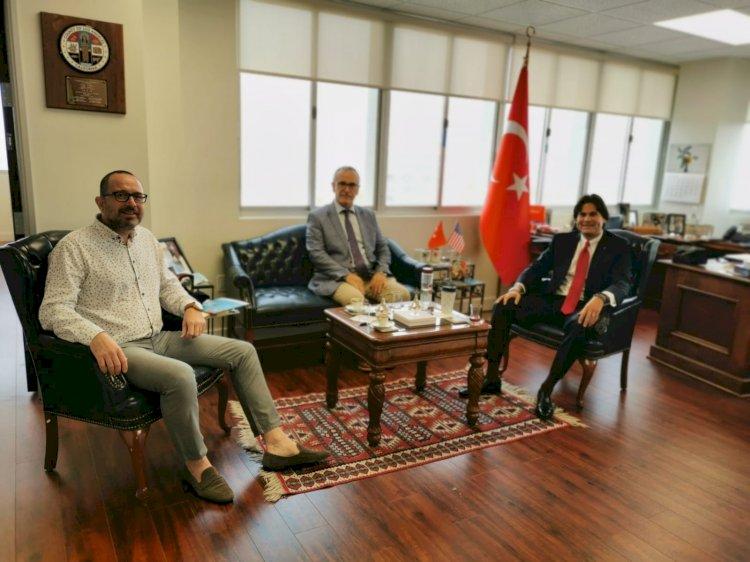 Gastronomi Turizm Derneği Başkanı Los Angeles'da Türk Mutfağı tanıtım stratejisi için T.C .Los Angeles Başkonsolosumuz Sn. Can Oğuz İle toplandı