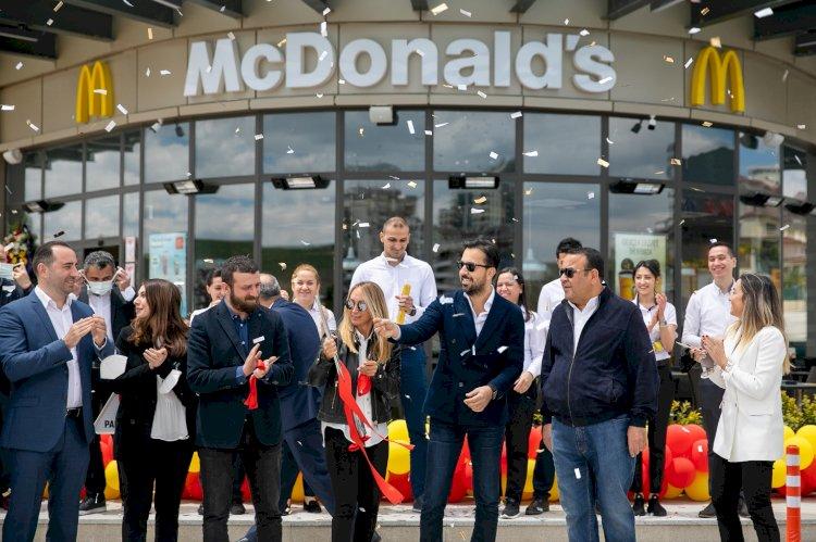 McDonald's Türkiye büyümesini sürdürüyor